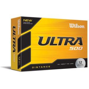 Wilson Ultra500 golf balls